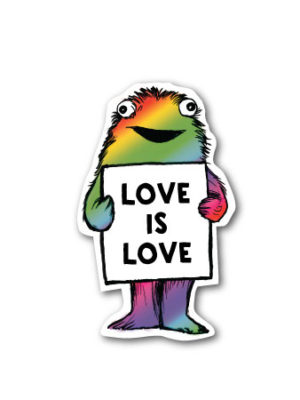 Love is Love – Vinyl Sticker