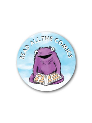 Read All the Comics – Vinyl Sticker
